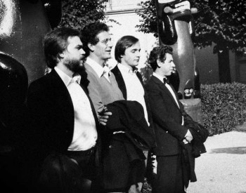 Jean Paul Jourdan, Pierre Reymond, Christian Favre et Edgar Fischer - 1982