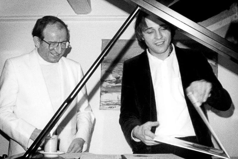 Christian Favre avec Karl Engel