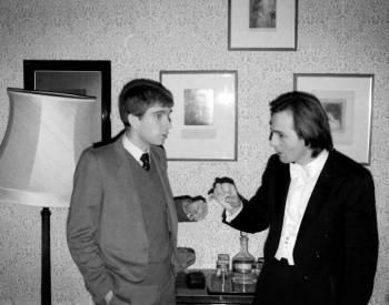 Christian Favre et Paul Coker