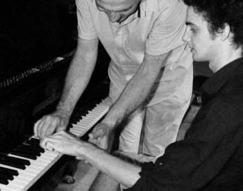 Christian Favre avec Antoine Gillieron