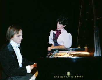 "Christian Favre et Cornie Coderey - Spectacle Sand Chopin ""Un amour qui attend la mort"" 1983"