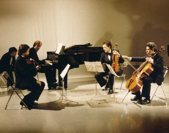 Jean-Paul Jourdan, violin - Christian Favre, piano - Pierre Reymond, viola et Edgar Fischer, cello - 1982