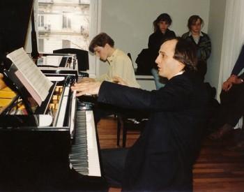 Christian Favre avec Cédric Pescia