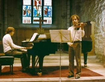 Christian Favre avec Ferenc Szecsődi