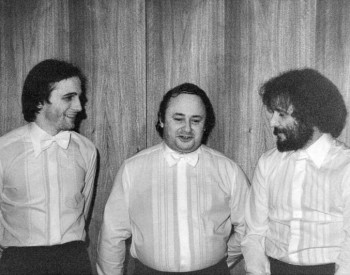 Christian Favre avec Henri Revelli et Philippe Mermoud