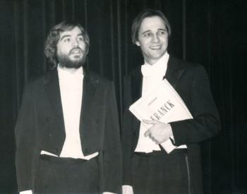 Christian Favre avec Jean-Paul Jourdan