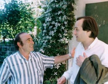Christian Favre avec Miguel Angel Estrella