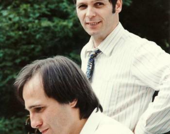 Christian Favre avec Mischa Mersson