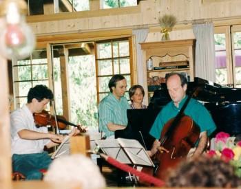 Christian Favre avec Patrick Genet et François Guye