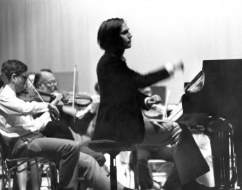Christian Favre concert Orchestre de Chambre de Lausanne - 1974