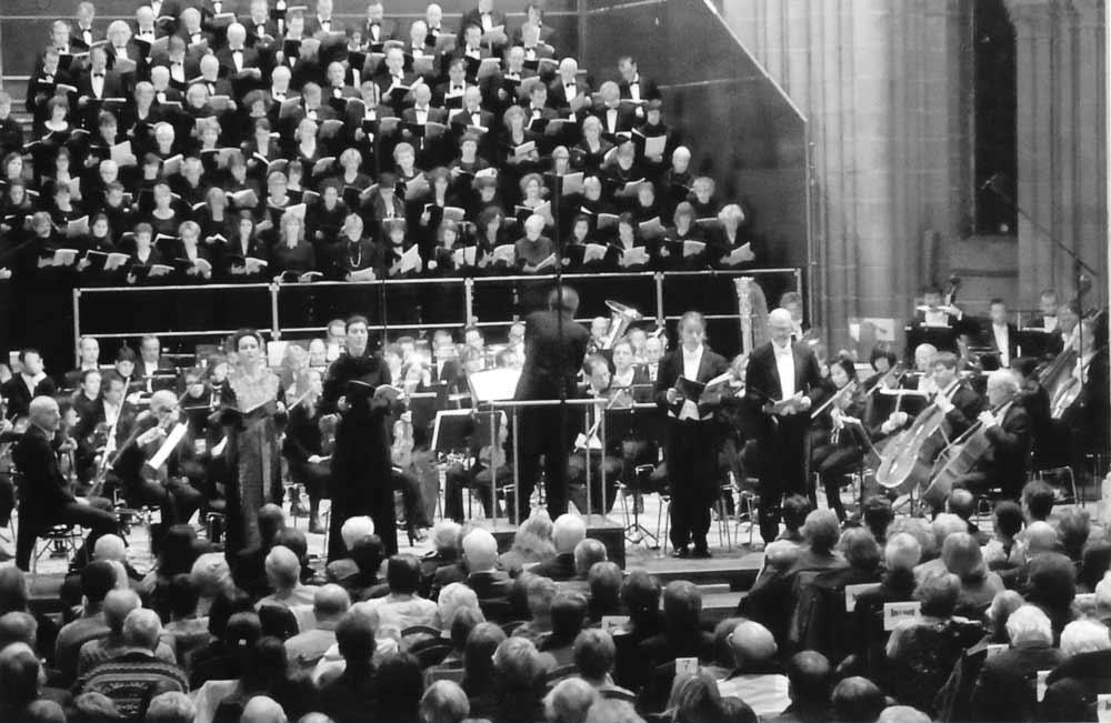 Le Requiem de Christian Favre à la Cathédrale de Lausanne le 24 novembre 2010 - OSR - Choeur Pro Arte