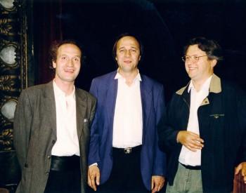 Gilles Colliard, christian favre et Constantin Negoïta